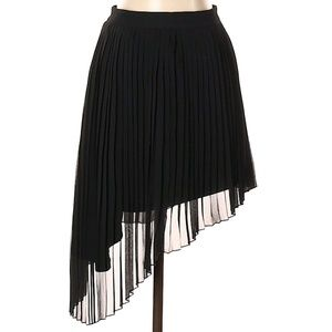 asymmetrical pleated skirt by American Eagle